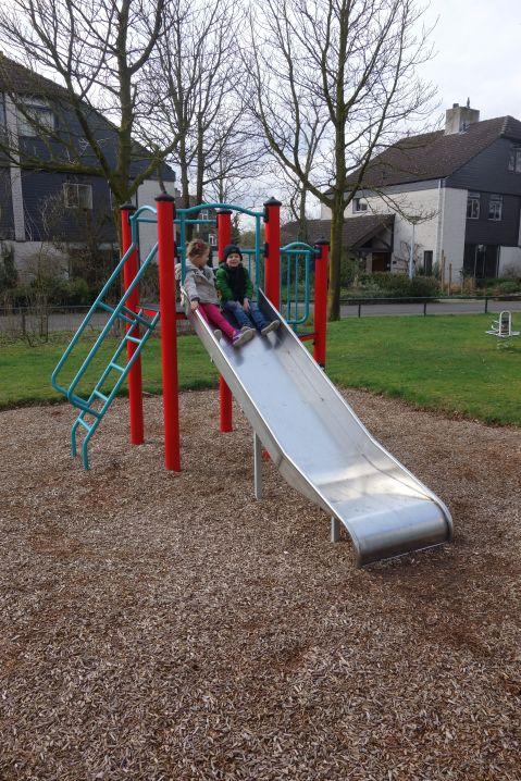Duoglijbaan / Double slide