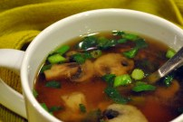 Annie's Miso Soup: https://vedgedout.com/2013/02/15/blogging-and-friendship/