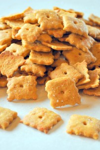 Vegan Cheez-It's: https://vedgedout.com/2013/03/08/vegan-cheez-it-crackers/