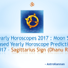 Yearly Horoscopes 2017 | 2017 SAGITTARIUS HOROSCOPE / 2017 DHANU HOROSCOPE
