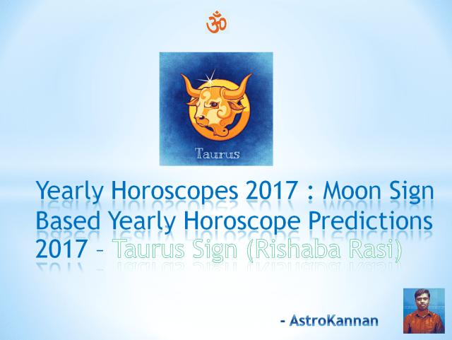 Yearly Horoscopes 2017 | 2017 Taurus HOROSCOPE / 2017 Vrishaba HOROSCOPE | 2017 New Year Rasi Palangal Rishaba Rasi
