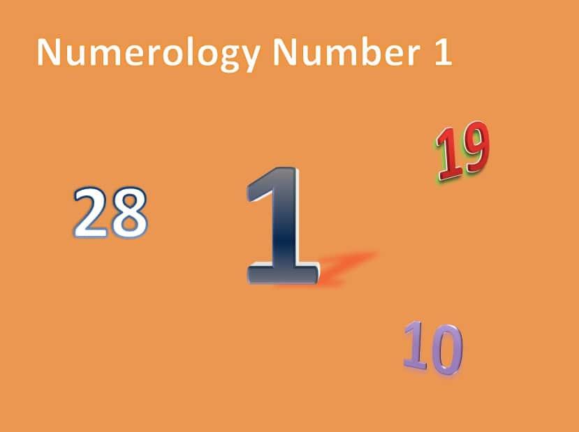 day no 1 january numerology
