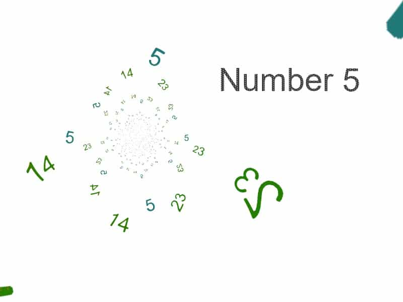 The Numerology Number 5 Life Path Number 5 Birth Number 5 14