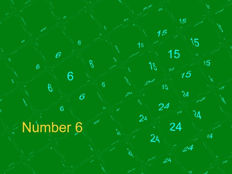 The Numerology Number 6 Life Path Number 6 Birth Number 6 15