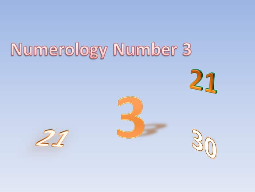 the numerology number 3 life path number 3 birth number 3 12 21 30numerology number 3 life path destiny number 3