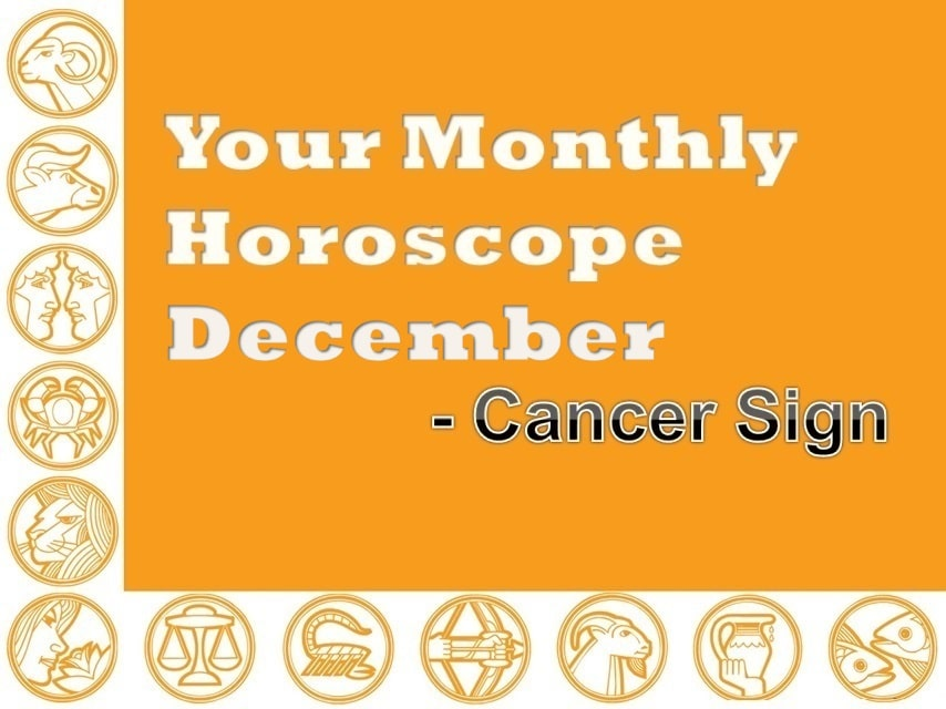 monthly horoscope for cancer for december 2019