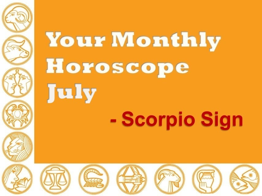 Your Monthly Horoscope July 2019 Scorpio Sign - Vedic Astro