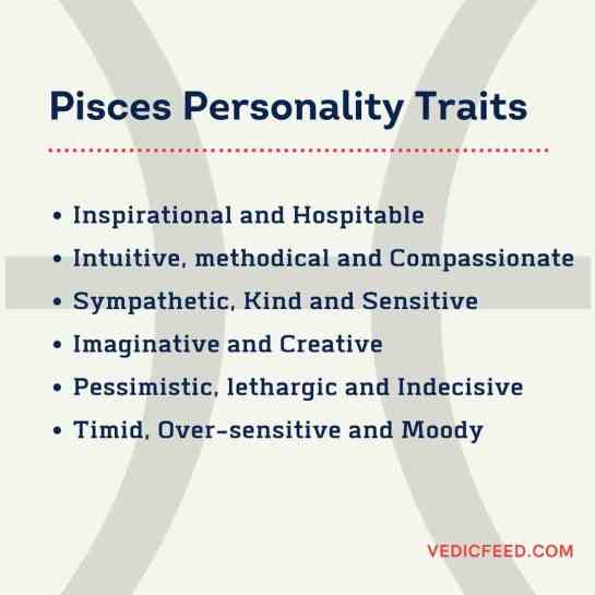 Meena Rashi - Pisces Personality Traits