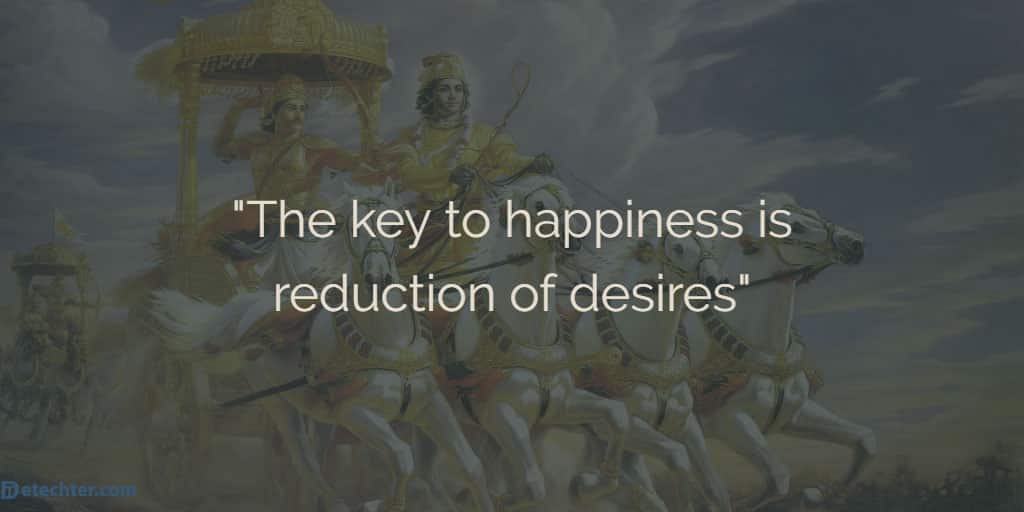 List of 28 Bhagavad Gita Quotes on Happiness