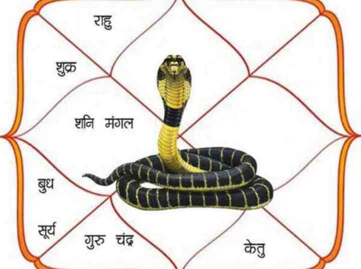 Kaal Sarpa Yog or Dosh Effects in horoscope - Symptoms and Remedies