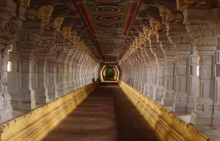 corridor of rameshwaram