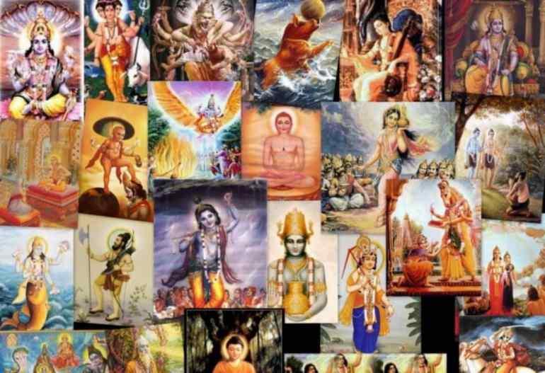 24 Vishnu Avatars