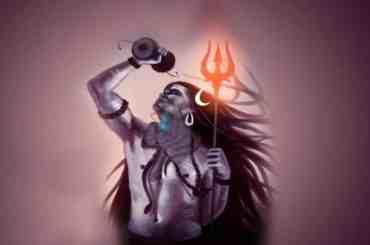 Lord Shiva - Blue Throat