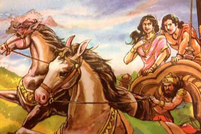 Arjun and Subhadra
