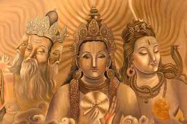 Brahma Vishnu Mahesh - Hindu Trinity