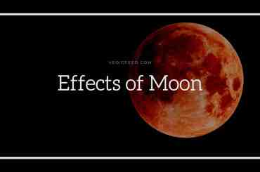 Effects of Moon in 12 houses of Astrology