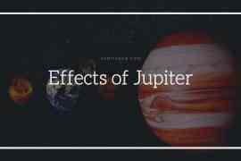 Effects of Jupiter