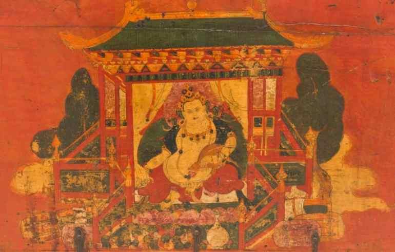 Jambhala, the Buddhist God of Wealth