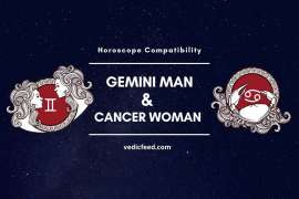 Gemini Man and Cancer Woman