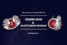 Gemini Man and Sagittarius Woman