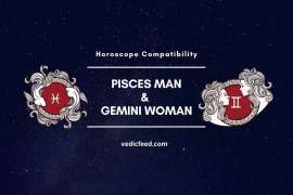 Pisces Man and Gemini Woman