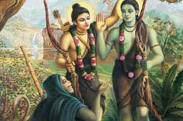 Rama Meets Hanuman