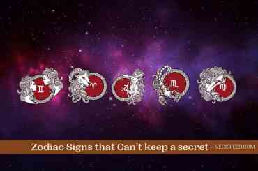 Zodiac Signs that Can't keep secret
