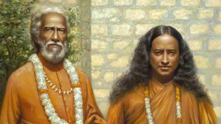 Yogananda and Swami Sri Yukteswar Giri