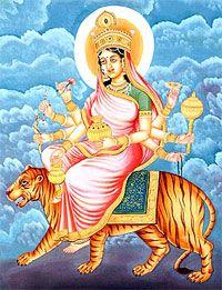 Kushmanda - NavaDurga for the fourth night of Navratri