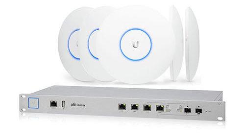 insatalatie en onderhoud van Ubiquity Firewall en wifiisystemen