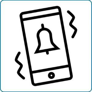 Alarm mobiel inschakelen Vedicom