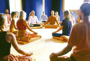 Group session of Meditation<br />