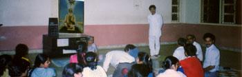 Dr. Jayadev Yogendra & his wife, Hansaben, the Mentors the Yoga Institute