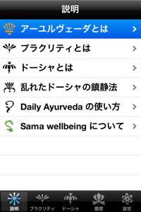 Daily Ayurveeda: インド伝統医学「アーユルヴェーダ」で毎日の体調管理アプリ。
