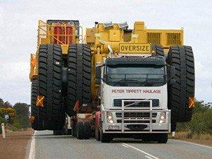 Правила перевозки крупногабаритных грузов автотранспортом
