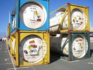 Разделение опасных грузов по классификационным кодам