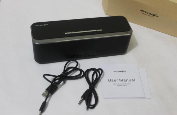 Unboxing the BlitzWolf BW F4 Wireless Speaker