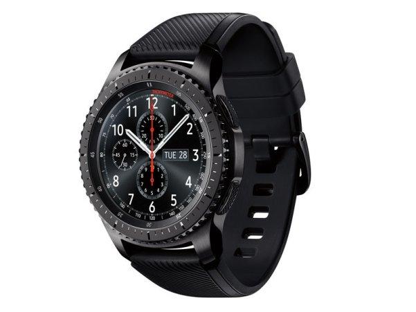 Samsung Gear S3 waterproof smartwatch