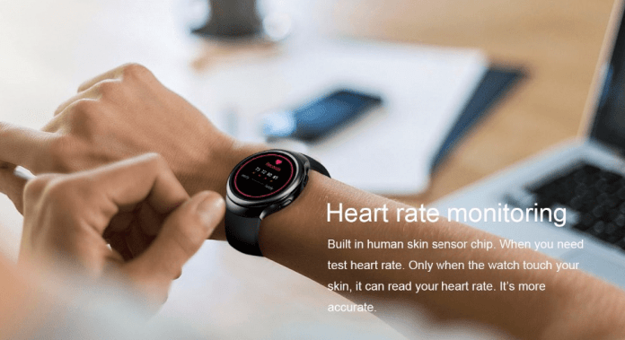 Inbuilt Heart-rate sensor