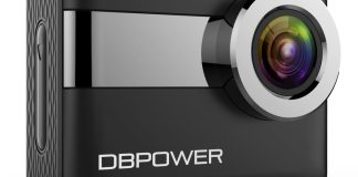 DBPOWER N6 4K Touchscreen Action Camera