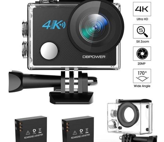 DBPOWER N5 4K Action Camera