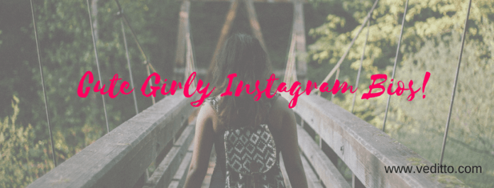 200+ Cute Girly Instagram Bios and Captions: Lovely, Classy