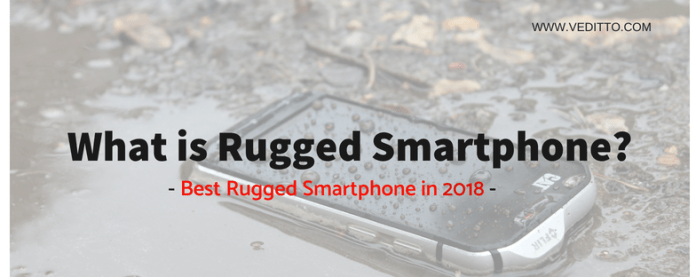 Best Rugged Smartphones in 2018