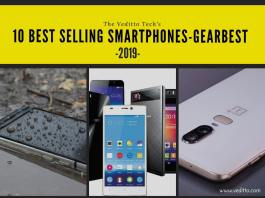best-selling smartphone at Gearbest