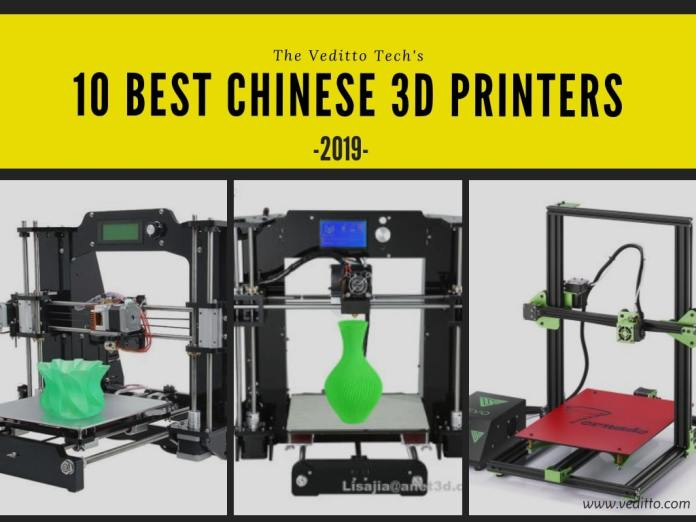 Best Chinese 3D Printers 2019