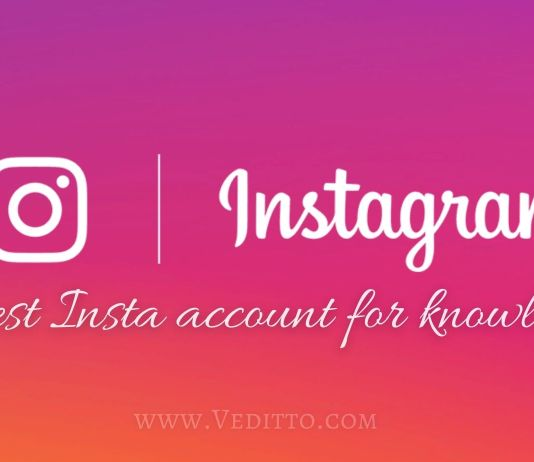 Instagram accounts to follow for Knowledge