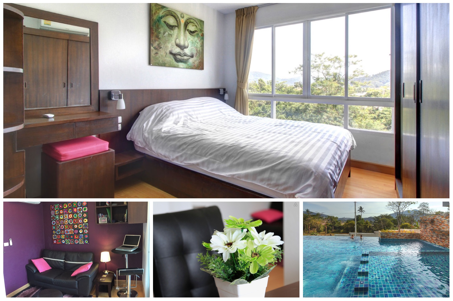Stylish & Cosy One Bedroom Condo for Rent in Phuket