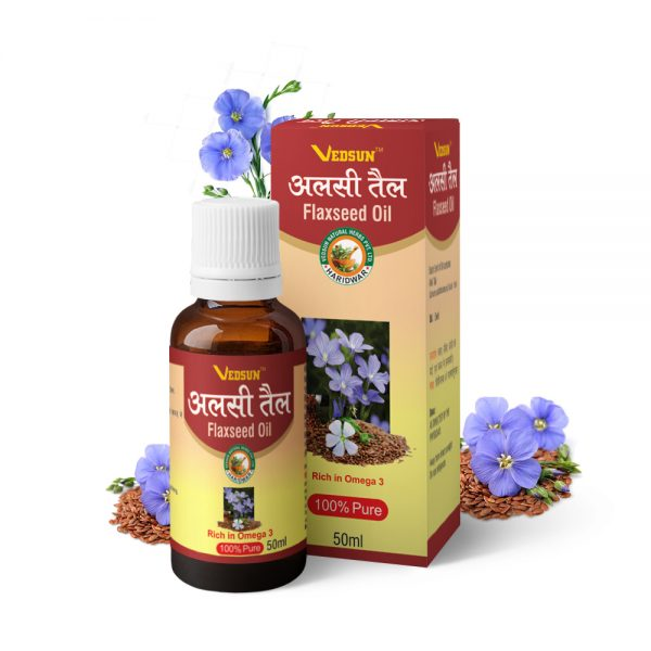 FLAXSEED OIL – NATURAL OIL FOR HEALTHY HEART WITH OMEGA-3 FATTY ACID AND ALPHA LINOLENIC ACID (ALA)