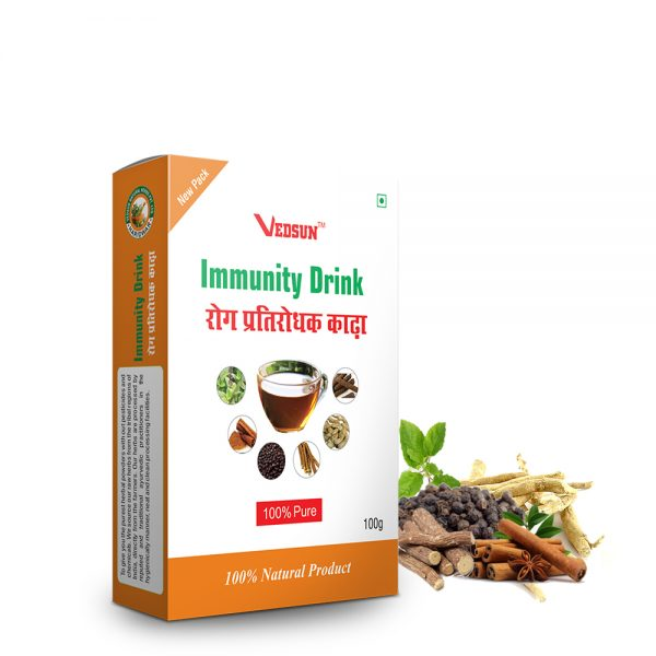 IMMUNITY DRINK- FOR IMMUNITY STRENGTHENING AND PROMOTING HEALTHY DIGESTIVE SYSTEM.