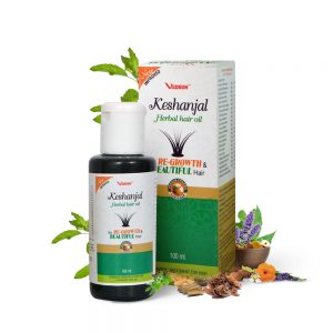 KESHANJAL HERBAL HAIR OIL- FOR SERIOUS HAIR PROBLEM AND SCALP TREATMENT WITH NATURAL HERBS.